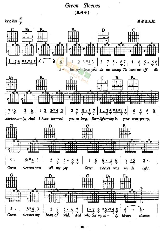 This is an image of Divine Free Guitar Sheet Music for Popular Songs Printable